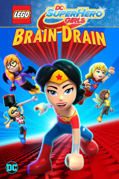 Lego DC Super Hero Girls: Brain Drain (2017) 720p WEBRip 2.3GB mkv Dual Audio AC3 5.1 ch