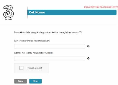 Cara Cek Status Registrasi Nomor Tri (3)