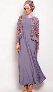 model-baju-gamis-sifon-kombinasi-batik