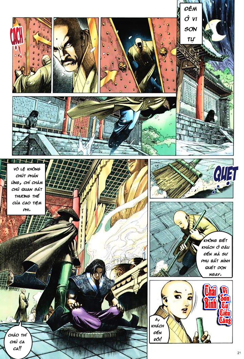 Anh hùng vô lệ Chap 6: Anh hùng hữu lệ trang 21