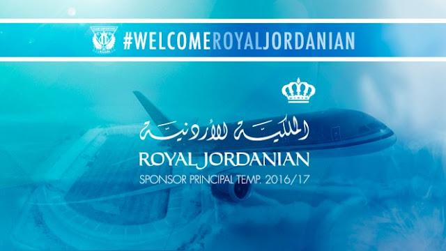 El Leganés estrena sponsor: la aerolínea Royal Jordania