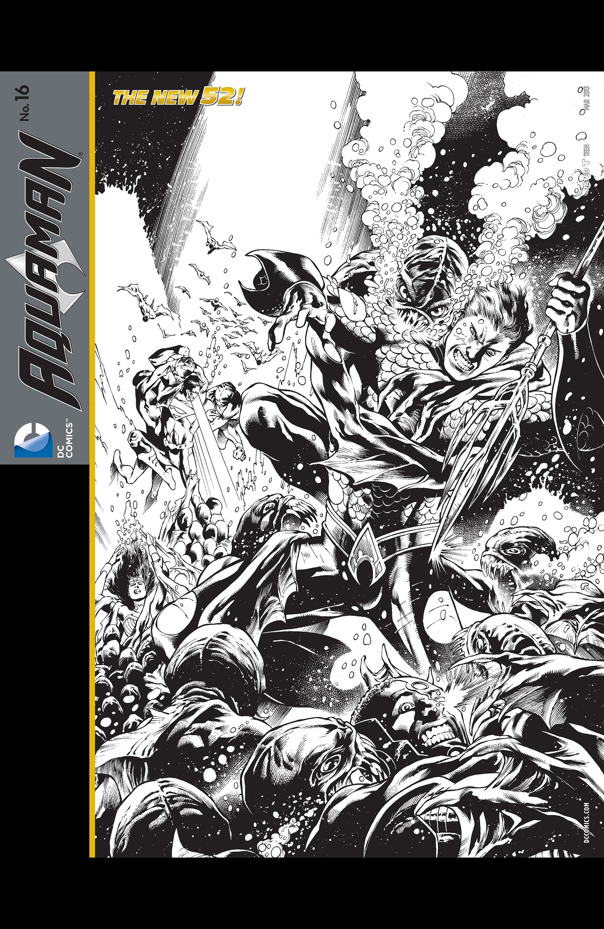 Read online Aquaman (2011) comic -  Issue #16 - 22