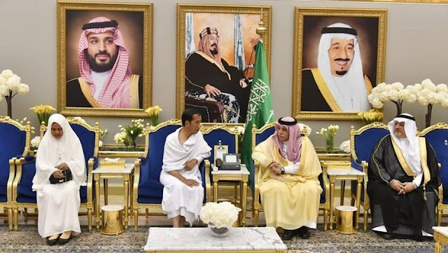 Jokowi Minta ke Raja Salman Tambahan Kuota Haji Jadi 250.000 Jemaah
