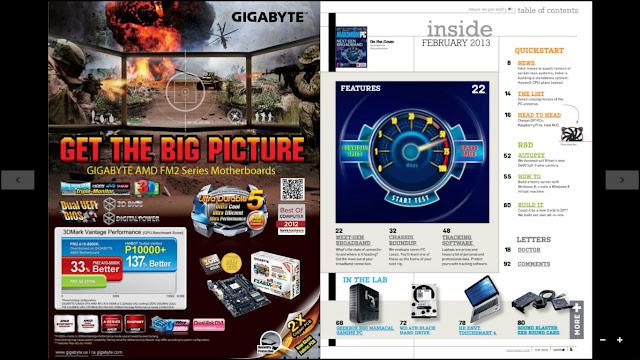 Revista Maximum PC Febrero 2013