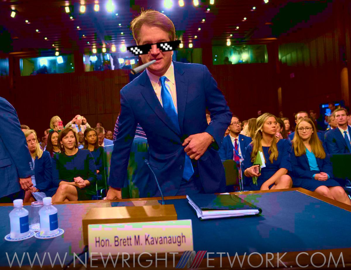 Judge Brett Kavanaugh, deal with it meme