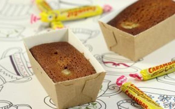 Mini-Cakes Au Carambar Et À La Banane