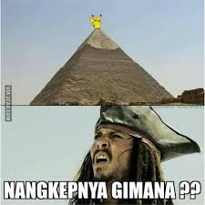 Foto Meme Lucu Pokemon Go