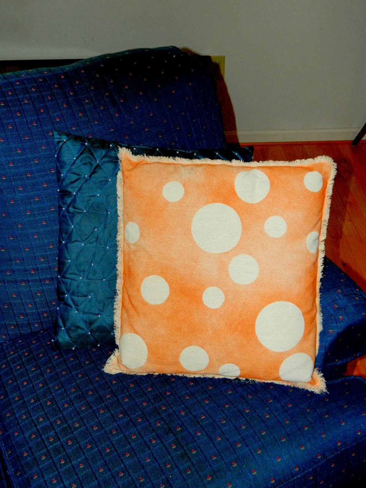 Creations By Ash Spray Paint Canvas Drop Cloth Pillows