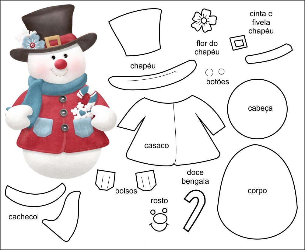 Armario Limpieza Ikea ~ Moldes de feltro para natal Como Fazer