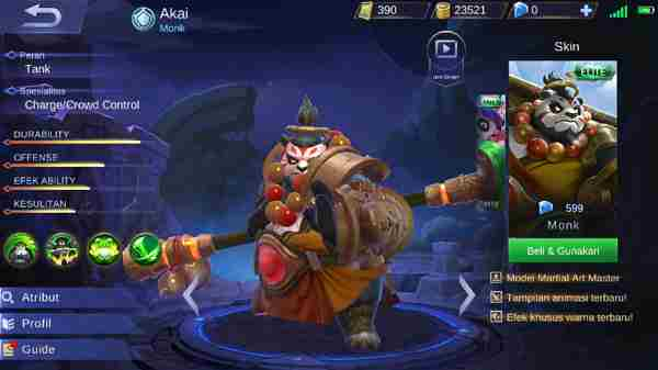 5 Hero Tank Mobile Legend Terbaik 2018
