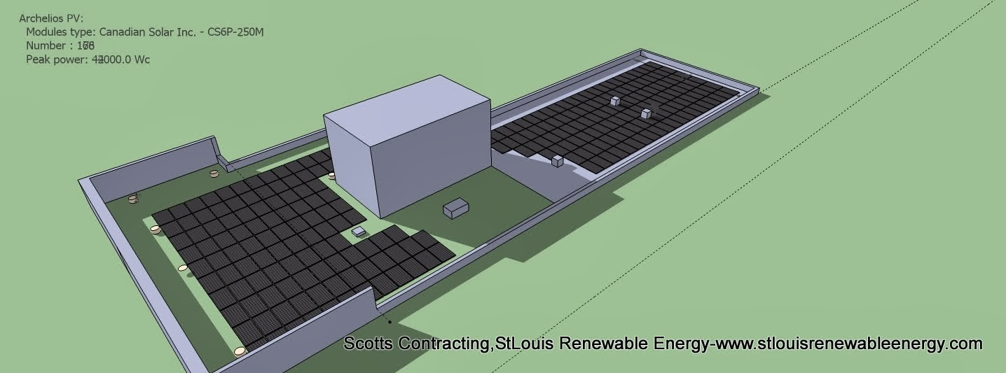 Remove Solar Panels Located in the Shaded Portions