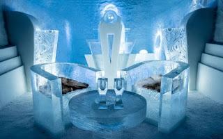 Vẻ đẹp ấn tượng bên trong khách sạn băng giá ở Thụy Điển 5