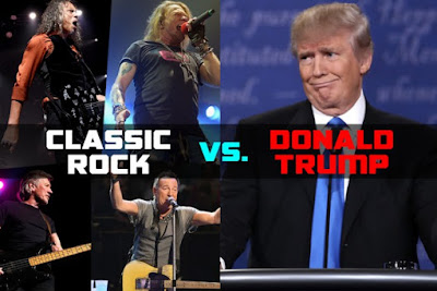 President Trump vs. Classic Rockers: The Battle Continues