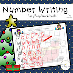 Number Writing Christmas Fun