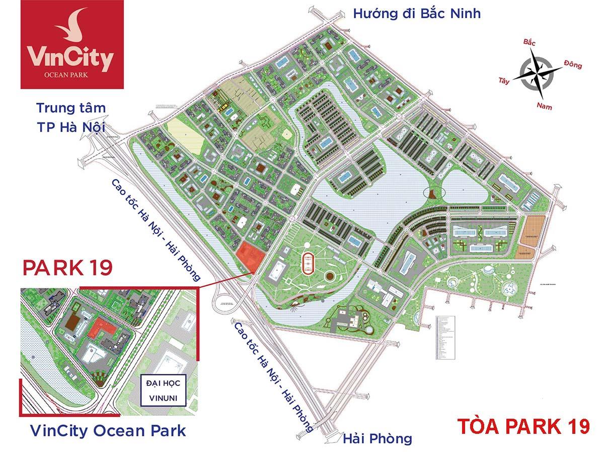 Tòa Park 19 VinCity Ocean Park Gia Lâm
