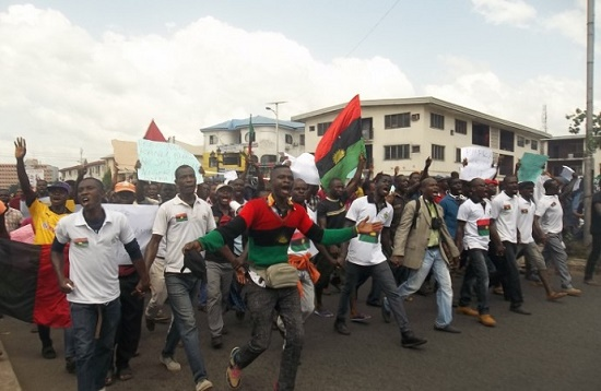BIAFRA!!! Operation Python Dance: IPOB Launches Operation David Dance
