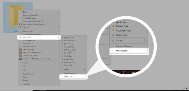 Cara Mengubah Warna File di Windows 7 dan 10 dengan Mudah