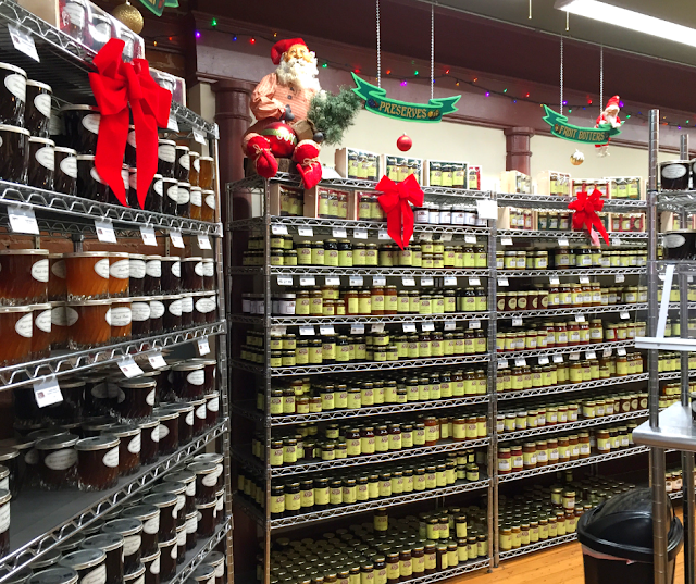 Galena Canning Company all decked for the holidays and full of gifts!