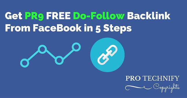 DoFollow link from facebook