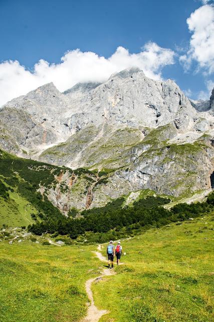 Vier-Hütten-Wanderung Mühlbach  Wandern am Hochkönig  Wanderung SalzburgerLand 09