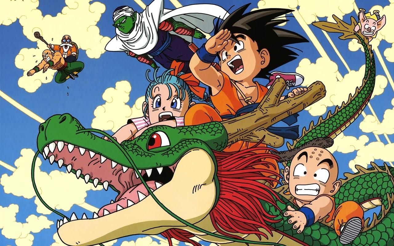 Gambar Kartun Download Wallpaper Gambar Kartun Dragon Ball