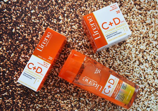 Energetyzująca pielęgnacja twarzy Lirene Vitamin Energy.