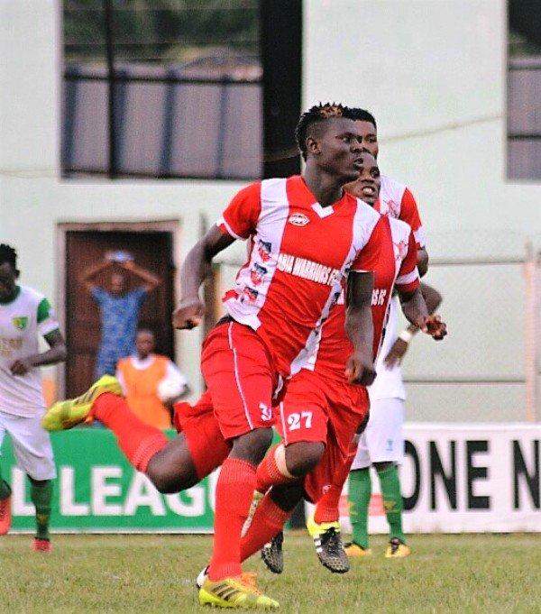 Odey Congratulates VAT Wonder Goal 6 winner Shedrack Asiegbu
