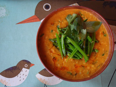 Thai Red Lentil Soup