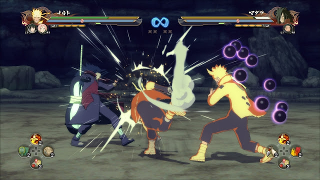 Naruto Shippuden Ultimate Ninja Storm 4 Gameplay PC