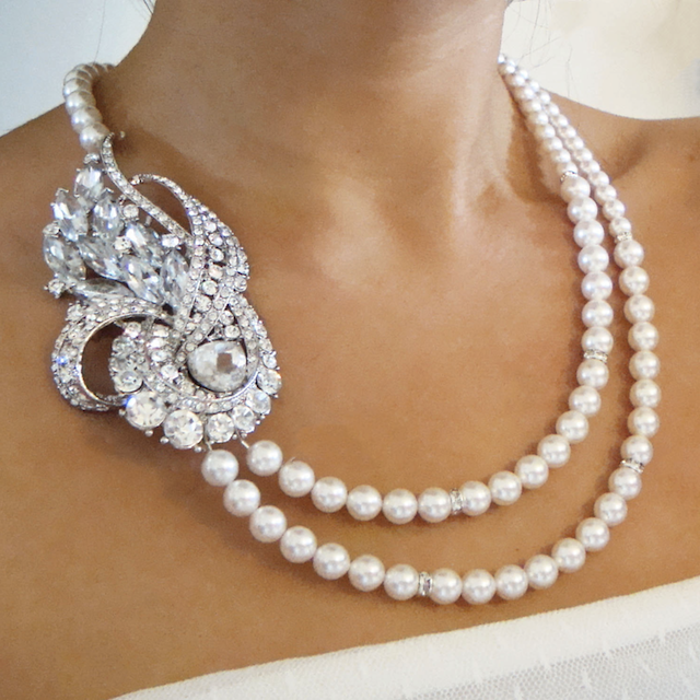 Wedding Jewelry Necklace