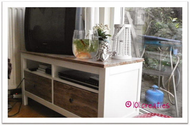 Gepimpt tv meubel