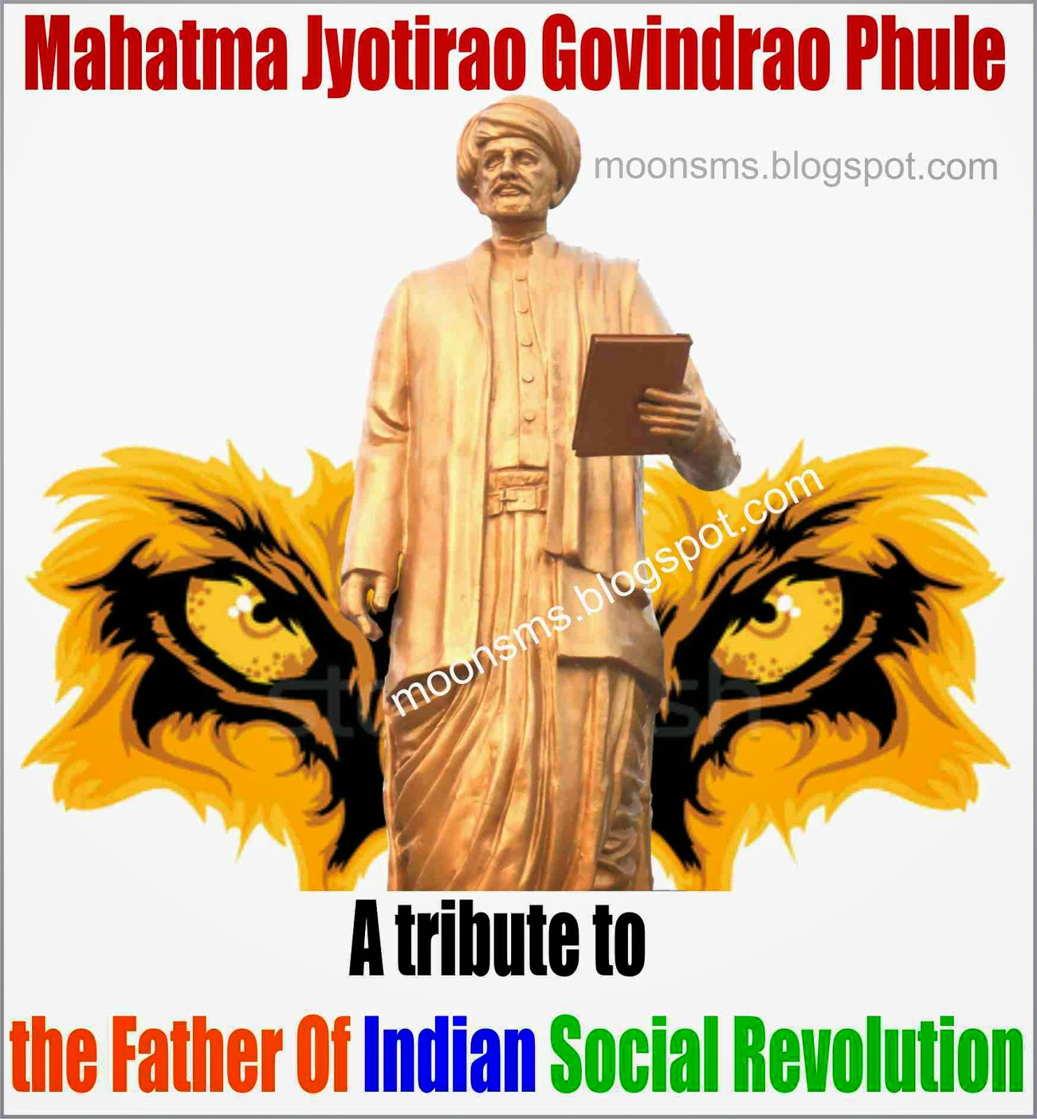 Happy Mahatma Phule Jayanti 2014 sms in Marathi Hindi English   Images Picture HD wallpaper महात्मा फुले जयंती