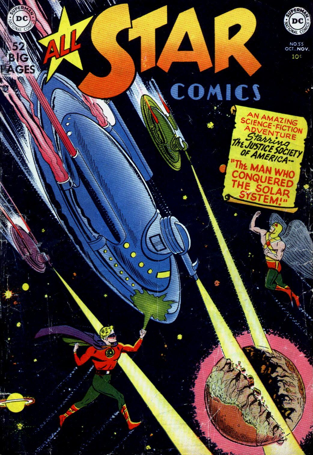 Read online All-Star Comics comic -  Issue #55 - 1