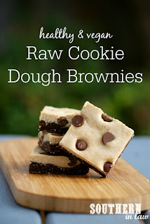 Healthy Raw Cookie Dough Brownies Recipe Gluten Free