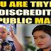 "Bato slams reporter Mariz Umali for ""trying to discredit him in public"""