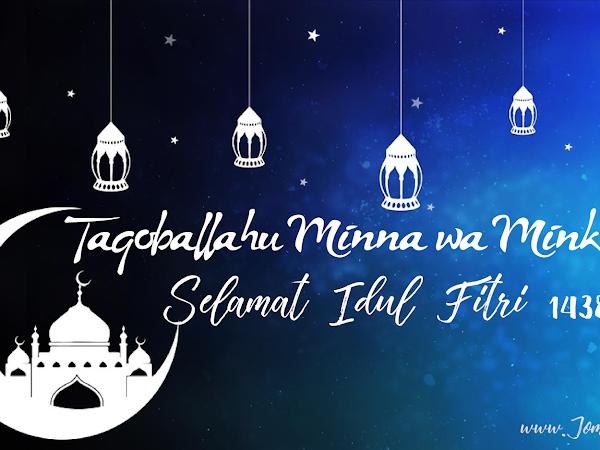 Selamat Mudik, Selamat Hari Raya Idul Fitri 1438 H