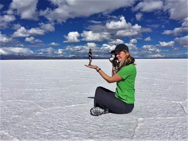 Salar de Uyuni, Größenverhältnis