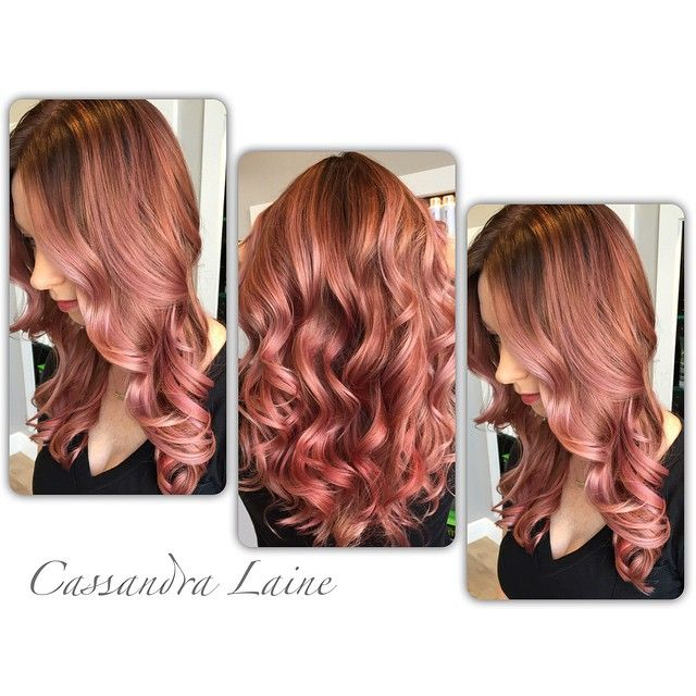 Stunning Rose Gold Hair Ideas The Haircut Web