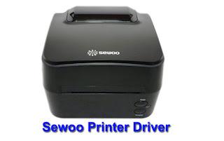 Sewoo LK-B24 Label Printer Driver Software Free Download Windows 32 bit / 64 bit (EPL) (ZPL)