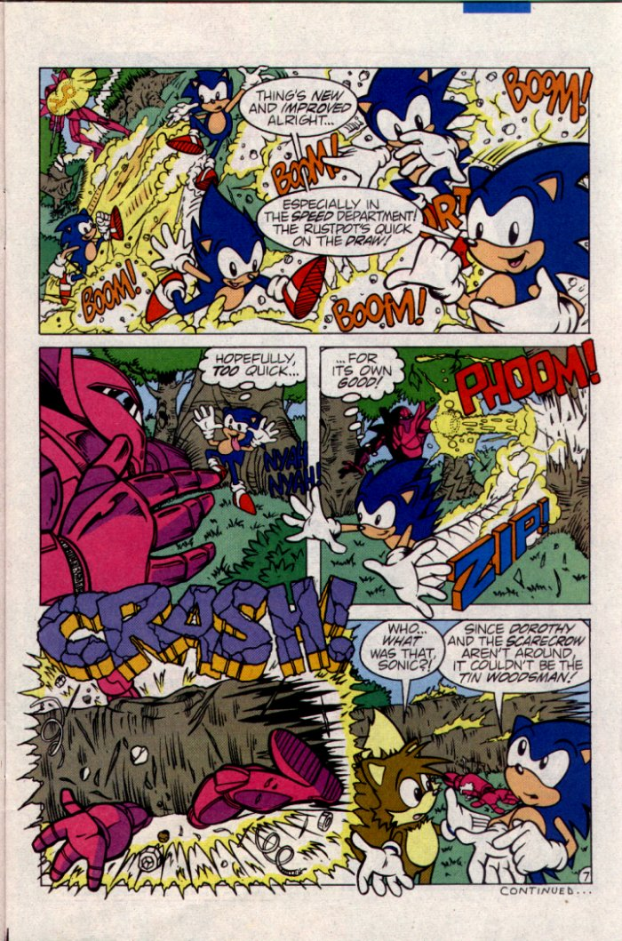 Read online Sonic The Hedgehog comic -  Issue #21 - 8