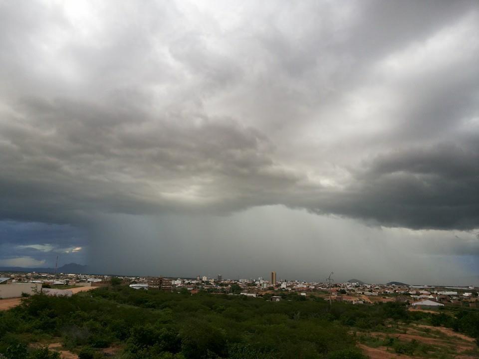 Previsão é de chuvas acima da média na PB para março, abril e maio de 2018