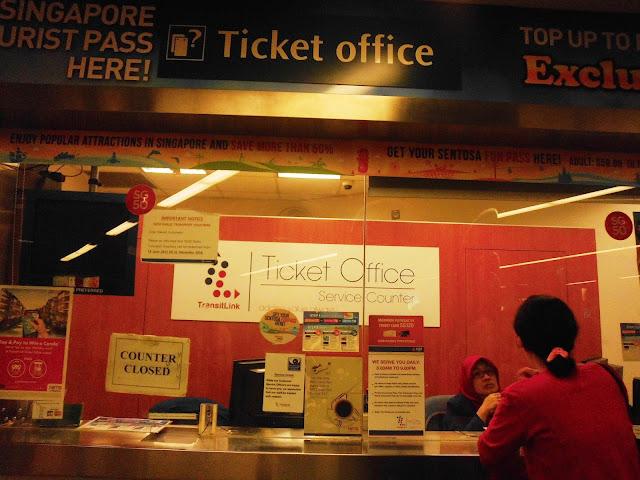 Tempat Pembelian STP di Singapore