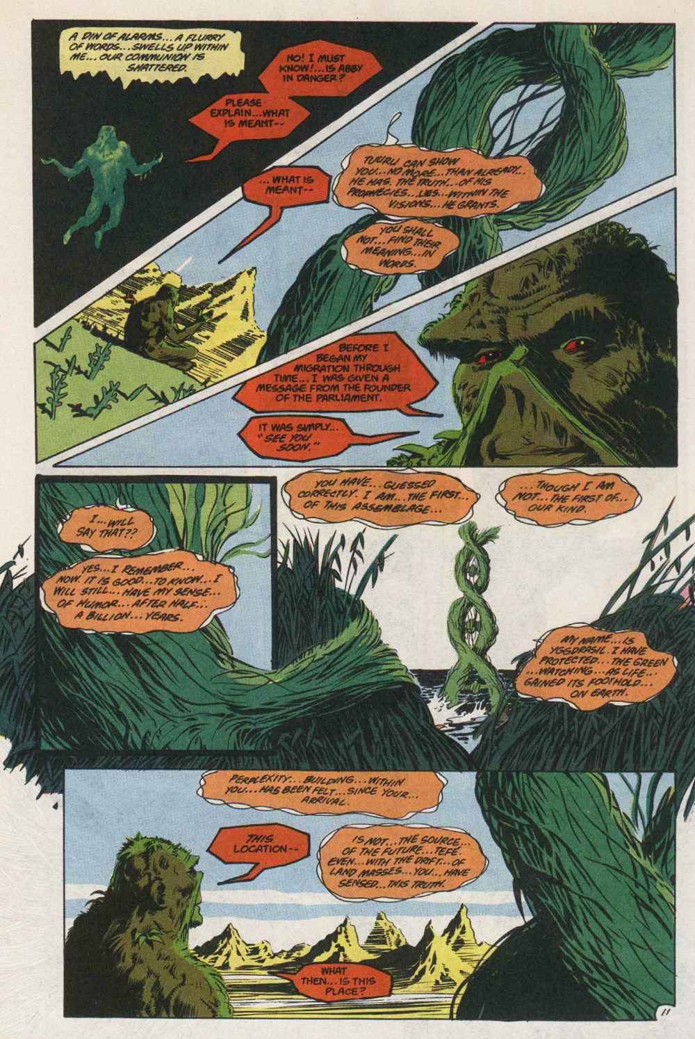 Swamp Thing (1982) Issue #89 #97 - English 12
