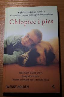 """Chłopiec i pies"" Wendy Holden"