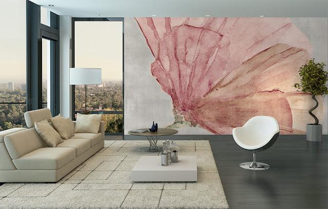 come dipingere le pareti idee murales ad acquarello easyhome360. Black Bedroom Furniture Sets. Home Design Ideas