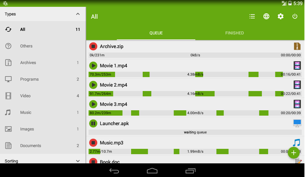 Advanced Download Manager Pro ADM 5.0.9 Cracked Android ...