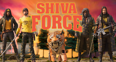 San Diego Comic-Con 2017 Exclusive The Walking Dead Shiva Force Action Figure Box Set by Skybound x McFarlane Toys x Jason Edmiston