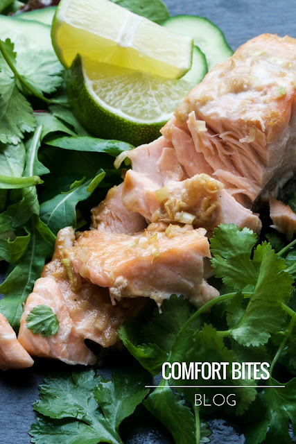 Thai Style Lemongrass and Coconut Roasted Salmon, AIP paleo dairy free