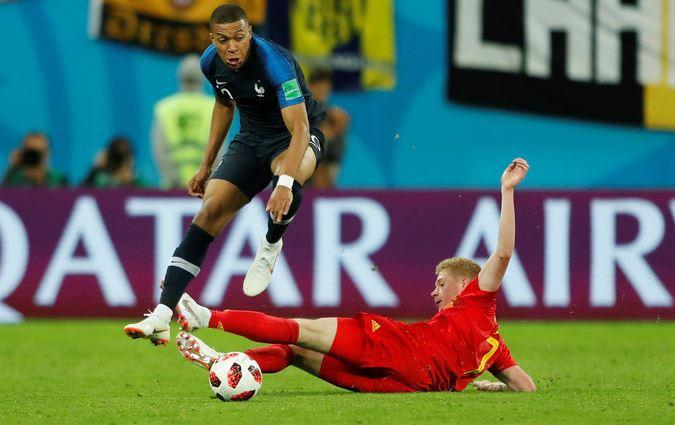 Prancis vs Belgia Semifinal Piala Dunia 2018
