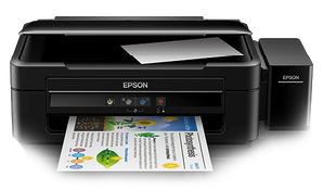 Epson L380 Scanner and Printer Drivers Download